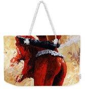 Lady In Red 26 Weekender Tote Bag