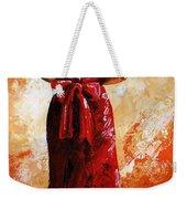 Lady In Red  39 Weekender Tote Bag