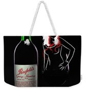 Lady In The Glass Weekender Tote Bag