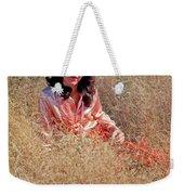 Lady In The Grass - Vert Weekender Tote Bag