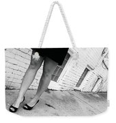 Lady In The Street Weekender Tote Bag