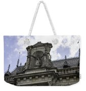 Lady Justice City Hall Cologne Germany Weekender Tote Bag