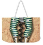 Lady Legs Corkscrew Painting Weekender Tote Bag