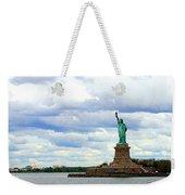 Lady Liberty B Weekender Tote Bag