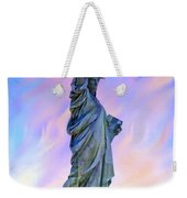 Lady Liberty Blues Weekender Tote Bag