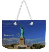 Lady Liberty In New York City Weekender Tote Bag