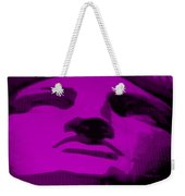 Lady Liberty In Purple Weekender Tote Bag