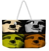 Lady Liberty In Quad Colors Weekender Tote Bag