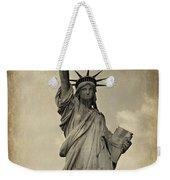 Lady Liberty No 11 Weekender Tote Bag