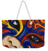 Lady Of Fire And Ice Weekender Tote Bag