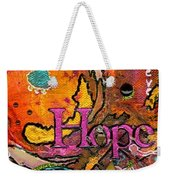 Lady Of Hope - A Breast Cancer Donation Weekender Tote Bag
