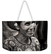 Lady Of Santiago Atitlan Weekender Tote Bag