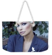 Lady Of Solitude Palm Springs Weekender Tote Bag