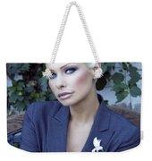 Lady Of Solitude Palm Springs Weekender Tote Bag by William Dey