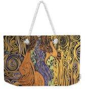 Lady Of Swirl Weekender Tote Bag
