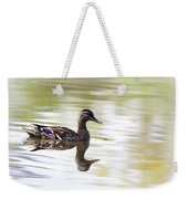 Lady On Glass - Mallard Weekender Tote Bag