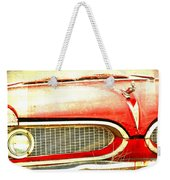Lady On Red Weekender Tote Bag