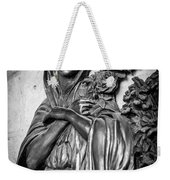 Lady On The Wall Weekender Tote Bag