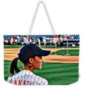 Lady Phanatic Weekender Tote Bag by Alice Gipson