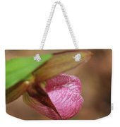 Lady Slipper At Moore State Park Close Up 1 Weekender Tote Bag