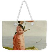 Lady Tennyson On Afton Downs Weekender Tote Bag