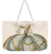 Lady Wearing Dress For A Royal Weekender Tote Bag