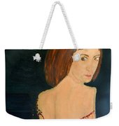 Lady With Beads From Shan Pecks Photograthy  Weekender Tote Bag