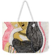 Lady With Fan Weekender Tote Bag