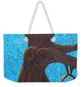 Lady With The Golden Hair Weekender Tote Bag