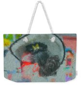 Lady With The White Hat Weekender Tote Bag