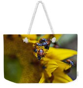Ladybugs Close Up Weekender Tote Bag