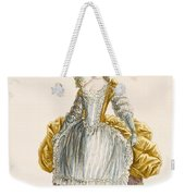 Ladys Ball Gown, Engraved By Dupin Weekender Tote Bag