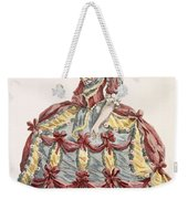 Ladys Gown For Cour A Leiquette Weekender Tote Bag