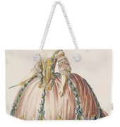 Ladys Gown For The Royal Court Weekender Tote Bag