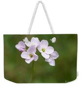 Ladys Smock Or Cuckoo Flower Weekender Tote Bag