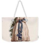 Ladys Summer Walking Gown, Engraved Weekender Tote Bag