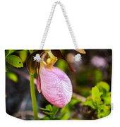 Ladyslipper  Wildflower Weekender Tote Bag