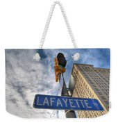 Lafayette Square Buffalo Ny V1 Weekender Tote Bag