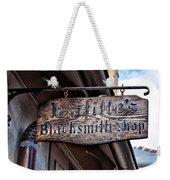 Lafittes Blacksmith Shop Sign Weekender Tote Bag