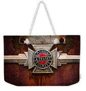 Lafrance Badge Weekender Tote Bag