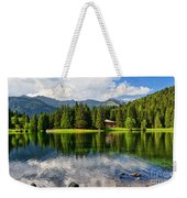 Lago Dei Caprioli - Roe Deer Lake Weekender Tote Bag