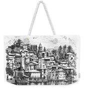 Lago Di Como-brienno Weekender Tote Bag