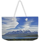 Lago Sarmiento And The Paine Massif Weekender Tote Bag