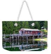 Lagoon Cove Weekender Tote Bag