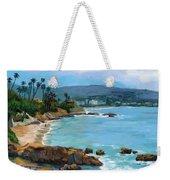 Laguna Beach Winter Weekender Tote Bag by Alice Leggett