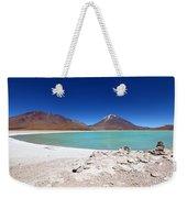 Laguna Verde Bolivia Weekender Tote Bag