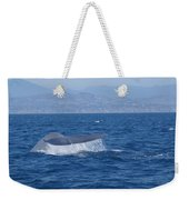 Laguna Whale Weekender Tote Bag