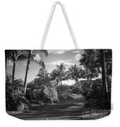 Lahaina Palm Shadows Weekender Tote Bag