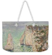 Laiguille And The Porte Daval   Etretat Weekender Tote Bag
