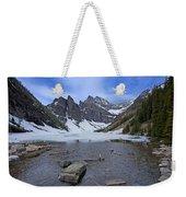 Lake Agnes Weekender Tote Bag